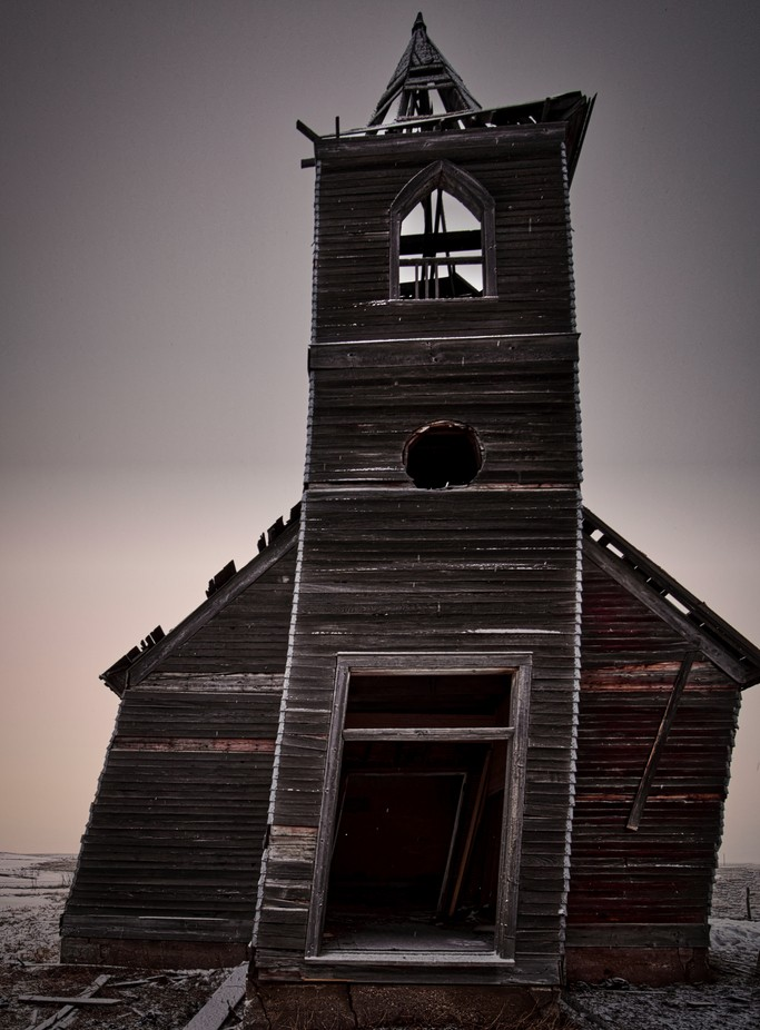 Rocky Vally Lutheran Church by montanahighlander - Abandoned Photo Contest