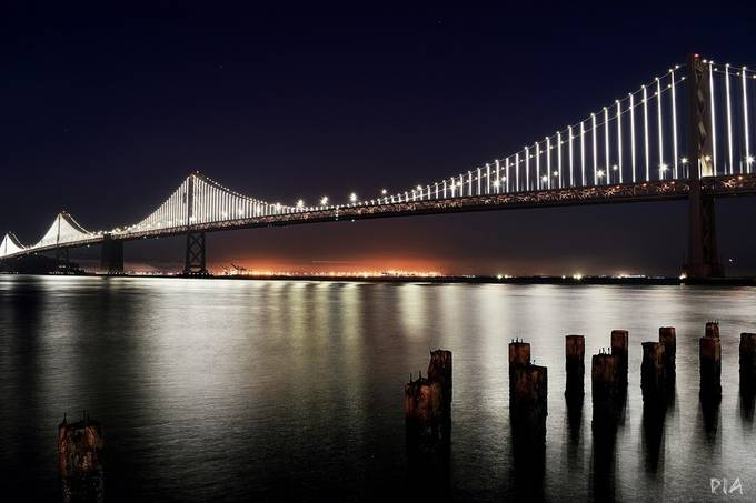 San Francisco Bay Bridge by travelissimoandiamo - Image Of The Month Photo Contest Vol 31