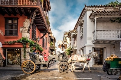 Romantic Ride - Cartagena Colombia