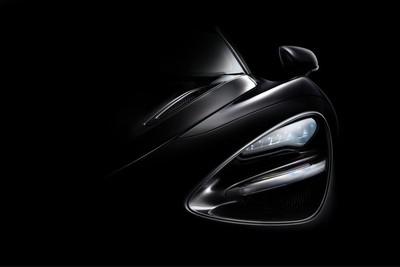 The McLaren 720S fine art photo done using focused duffused light.