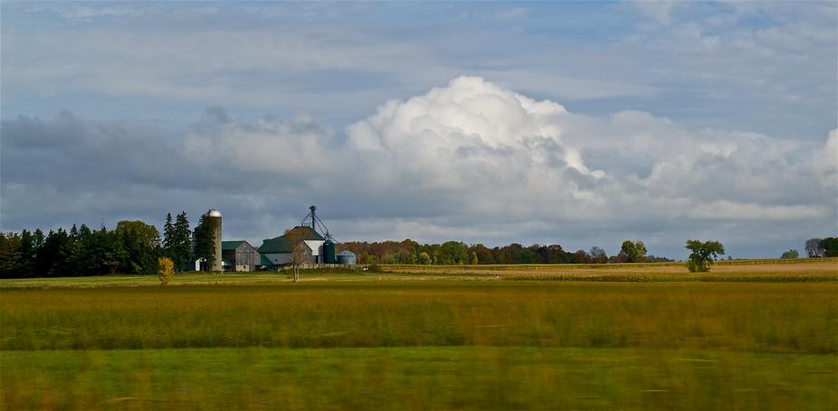 Ontario Country landscape farmland