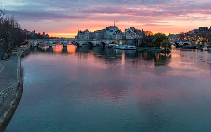 Paris Morning from Pont des Arts by JackHeald - Paris Photo Contest