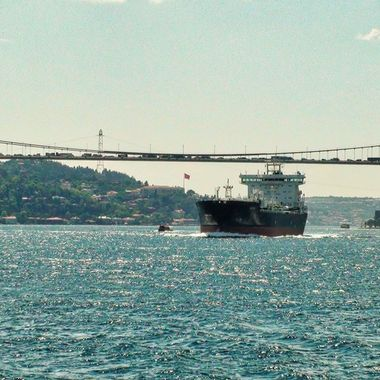 I took this photo when me and family were in Istanbul, in the year 2011. We were on a boat cruise on the bosphorus. This was one of the photos that I took on the cruise that day.