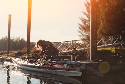 Morning on the water -