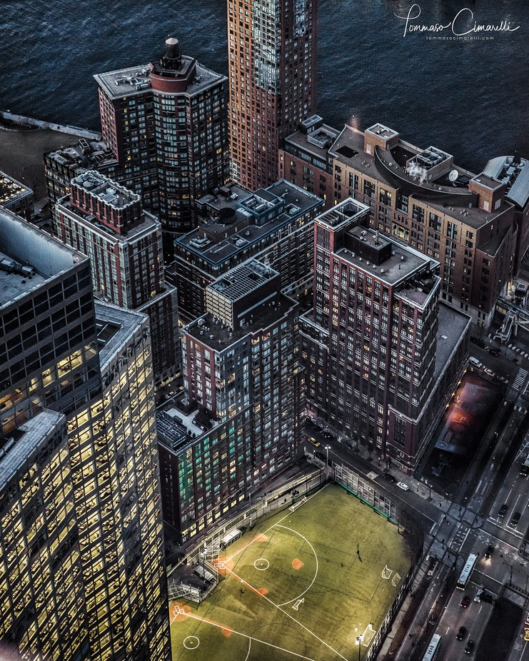 New York from above #2 by tommycimarelli - Rooftops Photo Contest 2018