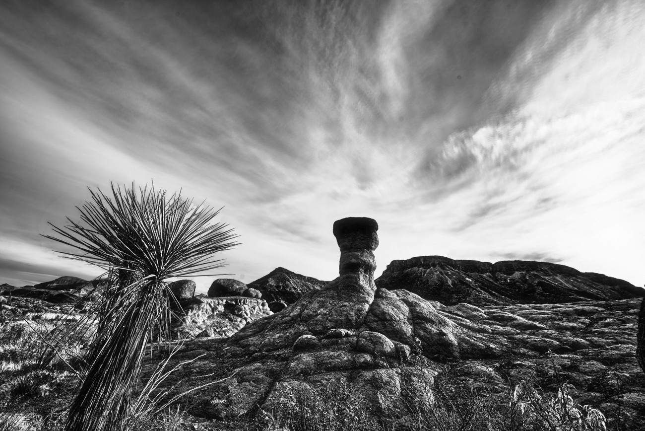 A HooDoo at Big Bend Ranch State Park, Texas