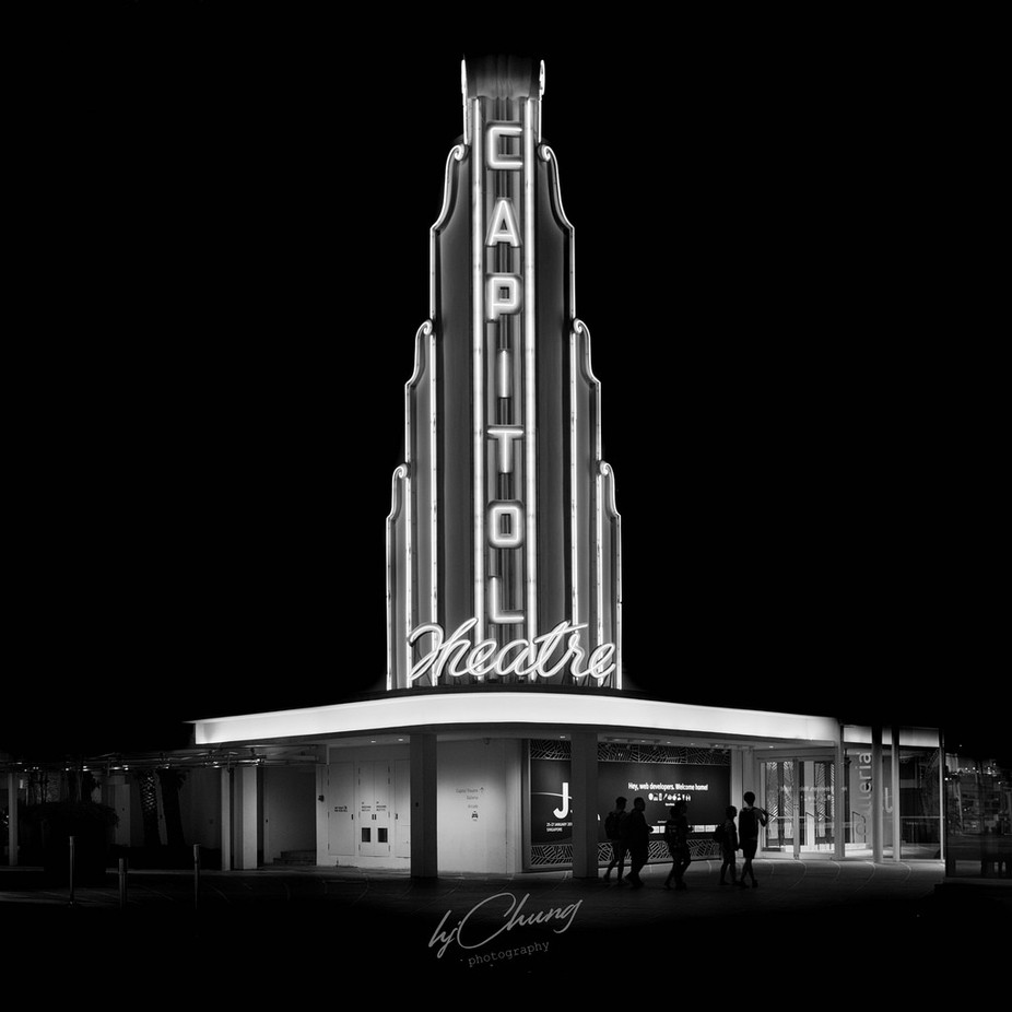 CAPITOL THEATRE by hjchung - A World In Black And White Photo Contest