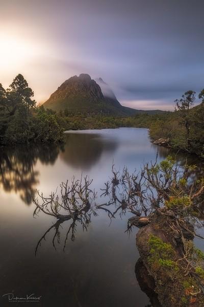 Dawn at Twisted Lakes