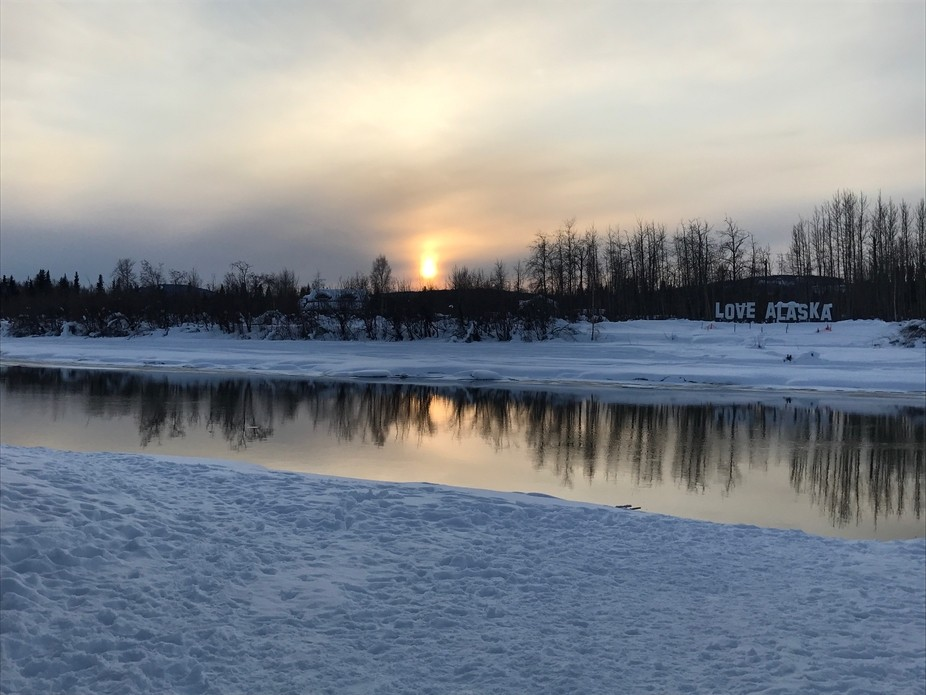 Fairbanks, Alaska, near Pike's Waterfront Lodge