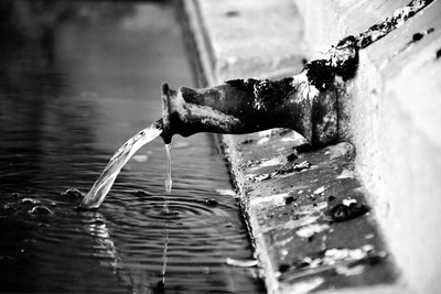 Photo of a water traditional tap in the mosque of cordoba