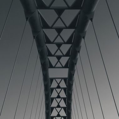 Humber Bay Bridge (2) - Toronto, Canada.