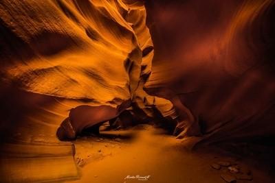 Antelope Canyon in Navajo land