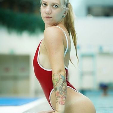 Olympic swimming pool with Olga