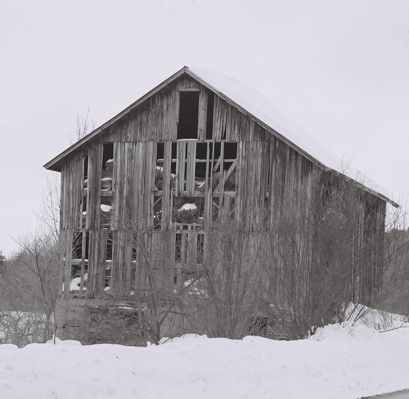 Taken while visiting upstate New York in the Winter.