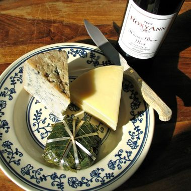 Folk Style Cheese and Wine 3