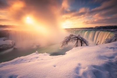 After Sunrise- Niagara Falls