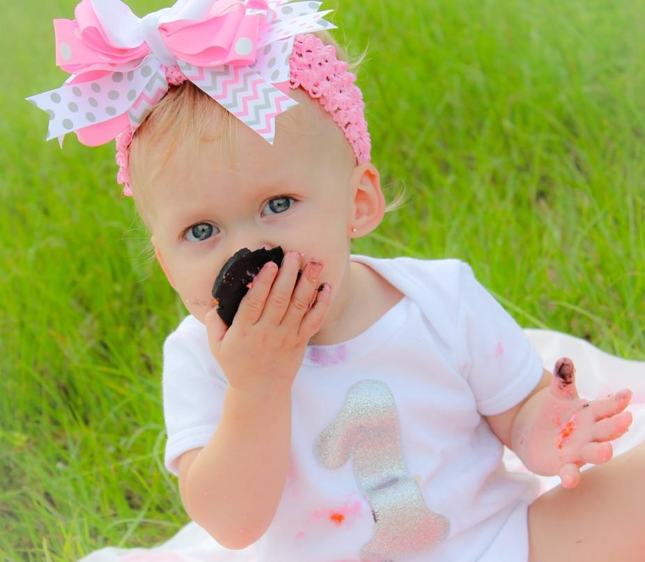 My sweet grand daughter . My heart, my love...