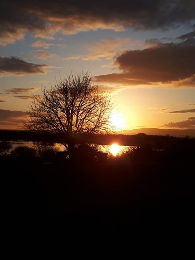 Sunset on the lough