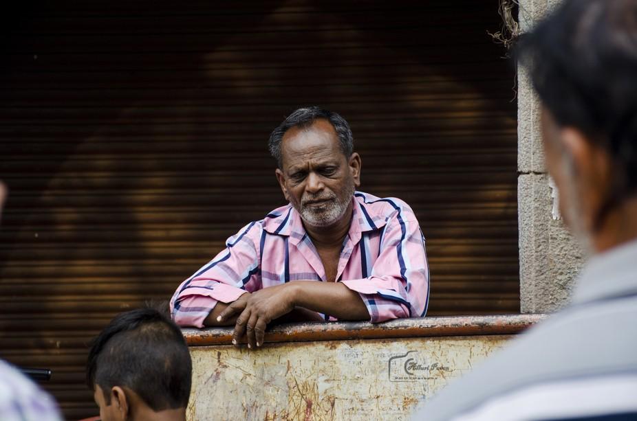 Charminar Street Portrait Photography