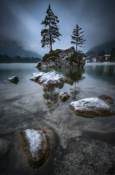 Moody Hintersee in Germany. Beautifull location