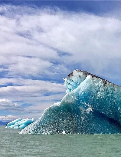 Beautiful iceberg, Patagonia, Argentina.