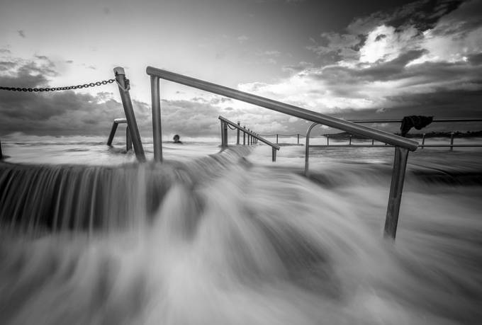 """Monoflow"" by gregbarber - The Water In Black And White Photo Contest"