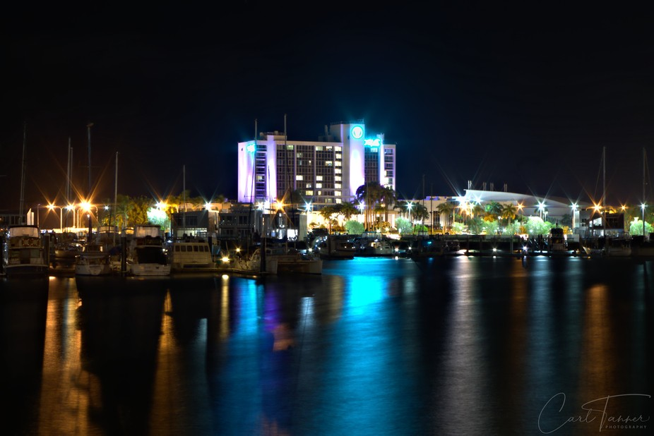 "Shot of ""The Ville"" Hotel and Casino, taken last Sunday night."