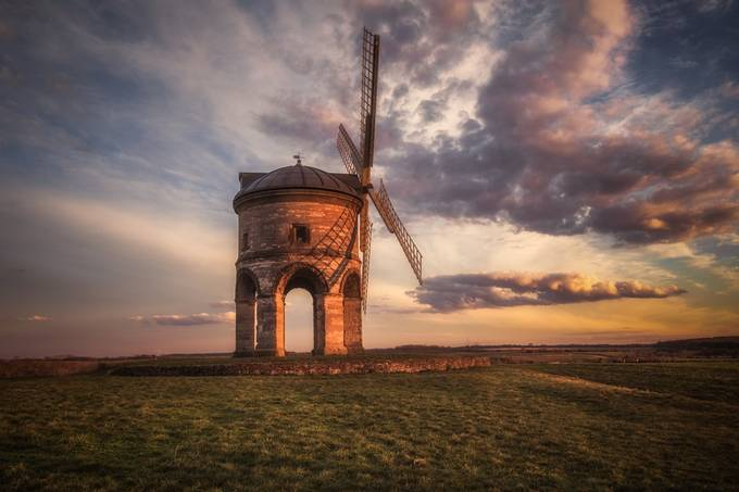 Chesterton Windmill at Sunset by CPF_Photography - Windmills Photo Contest