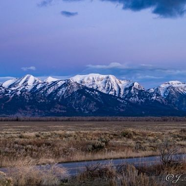 Morning In The Grand Tetons