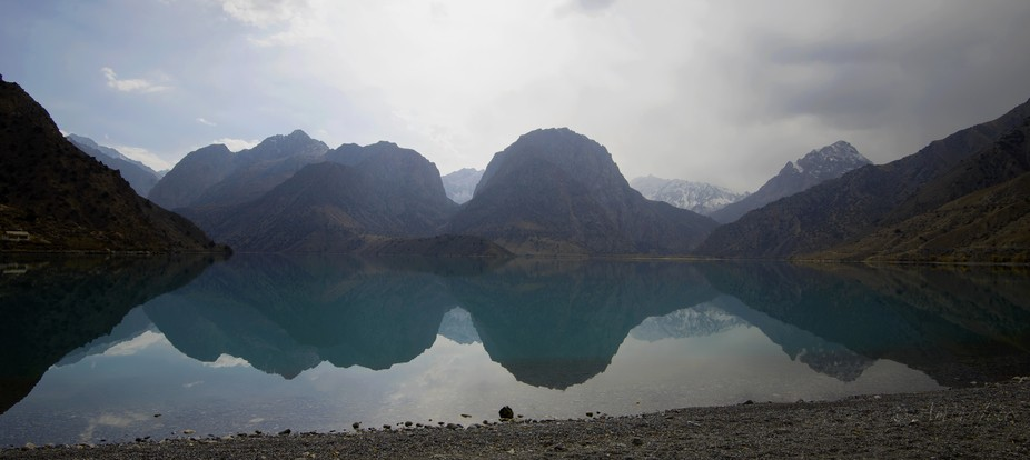 Alexander lake, Tajikistan