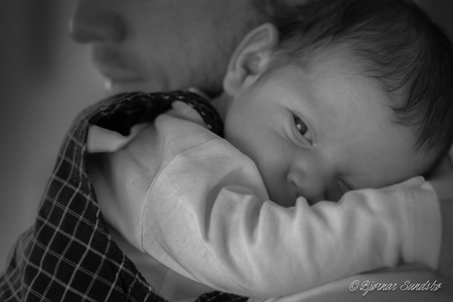 My first attempt at baby photos. Harder than I thought, but pretty happy with this one.