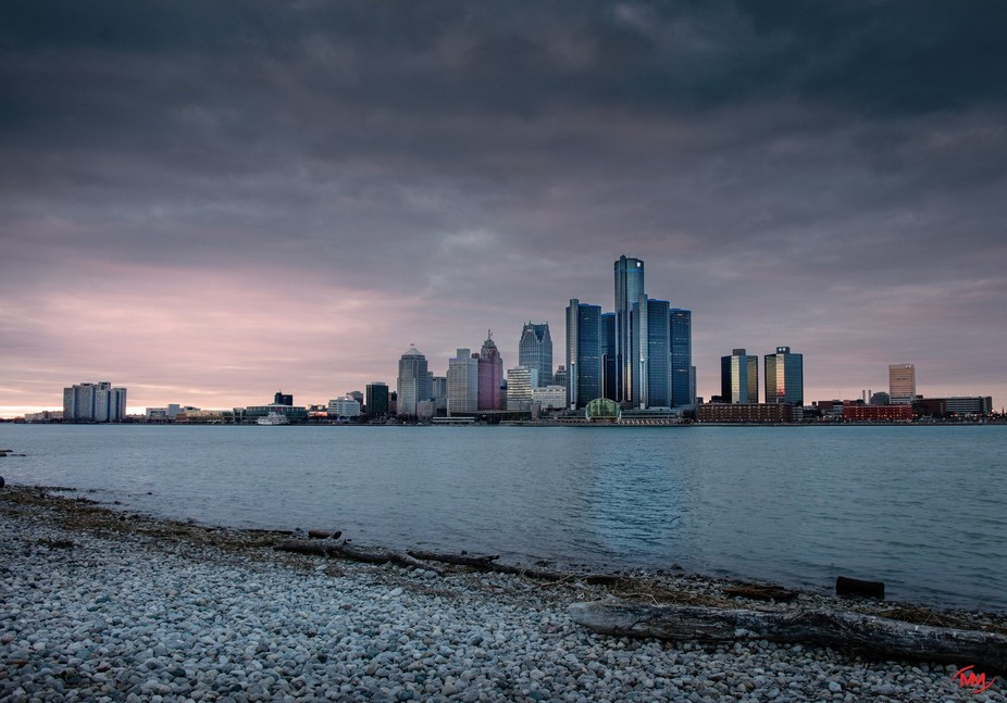 Motor City Sunset