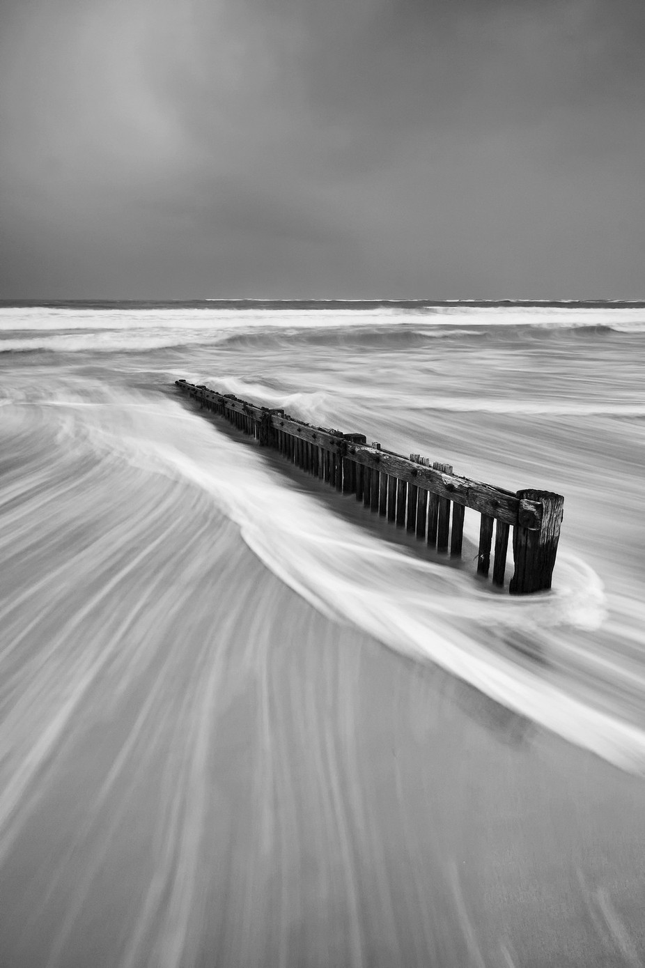 RAAFS Beach by 20westphotos - Black And White Landscapes Photo Contest