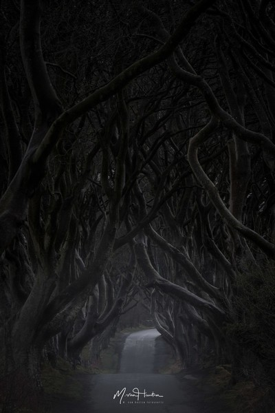 The dark side of Ireland...