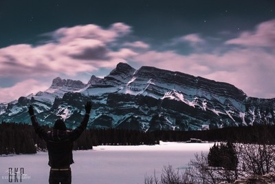 Mount Rundle Nights