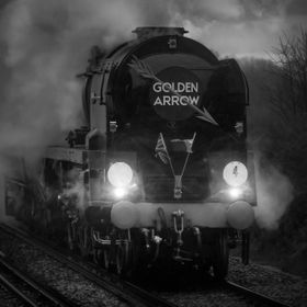 Leading 1Z83, the Belmond British Pullman, out of Margate and back to London Victoria, rebuilt Bulleid Merchant Navy 4-6-2 35028 <i>Clan Li...
