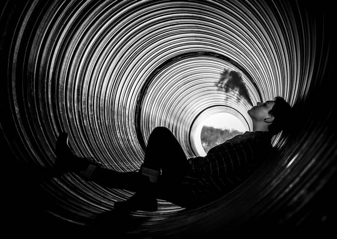 A safe spot from the world. by MWMeadorphotography - Spirals And Composition Photo Contest