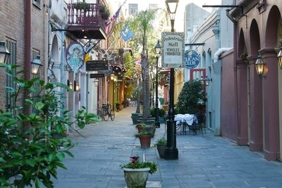 French Quarter Alley
