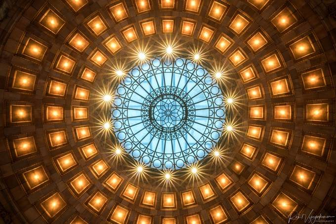 Rotunda by srohitkvijay - Ceilings Photo Contest