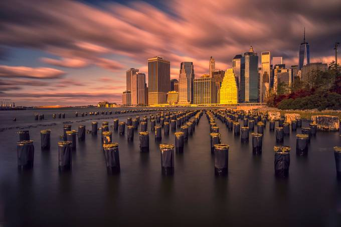 New York,Manhattan by Birmo - Sunset And The City Photo Contest