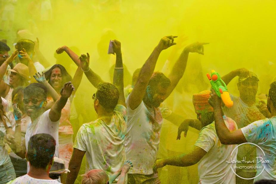 """""""Holi in Yellow"""""""
