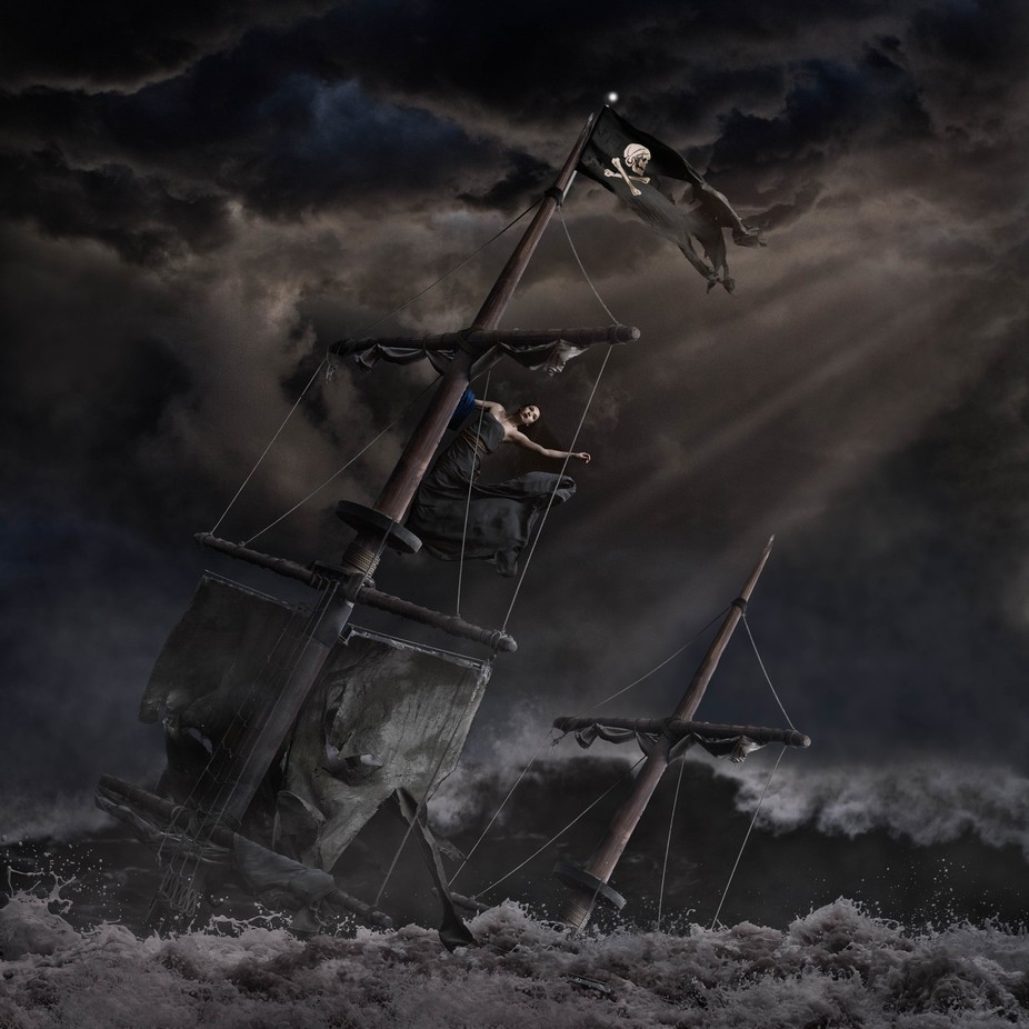 Shipwreck by davelord - Fantasy In Color Photo Contest
