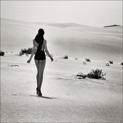 The girl in the desert #2