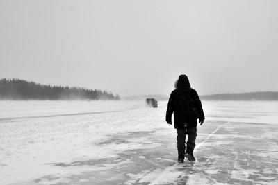 Ice Road Stroll