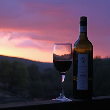 Wine @ sunset
