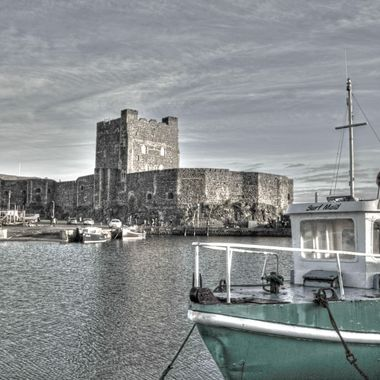 CARRICK FERGUS CASTLE in the outskirts of Belfast