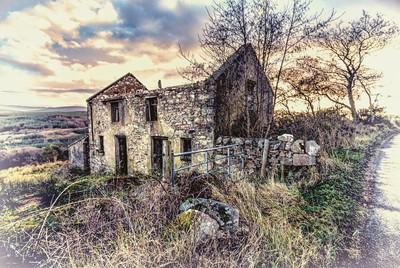 Derelict farmhouse, Donegal