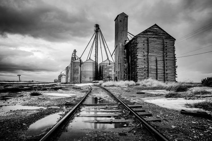 Silos by reesevans5 - Abandoned Photo Contest