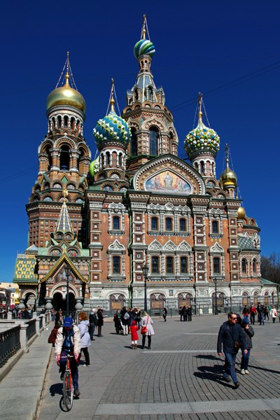 Temple of the Resurrection of Christ Saved on the blood, Saint Petersburg. Photo 01.