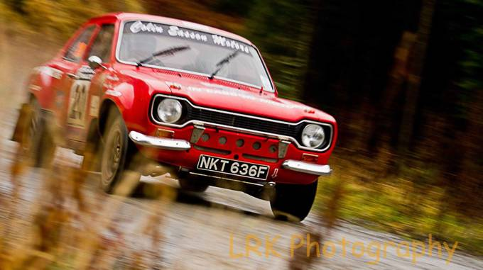 Roger Albert Clark Rally. Ford Escort Mexico by lrk - Capture Motion Blur Photo Contest